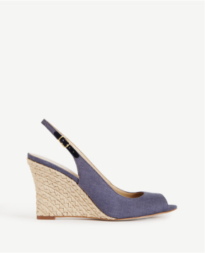 Denim Blue Slingback
